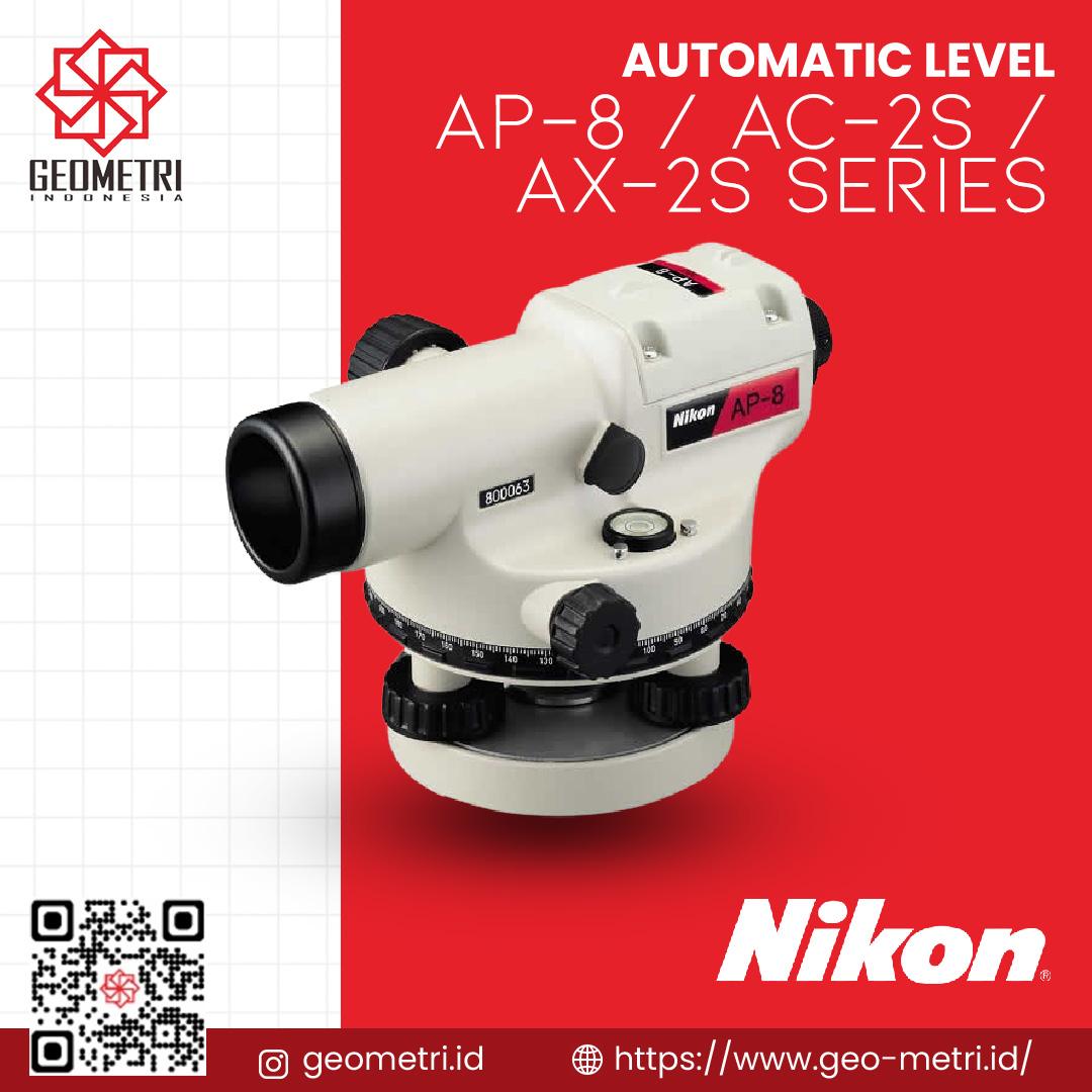 Automatic Level Nikon AP-8 / AC-2S / AX-2S Series