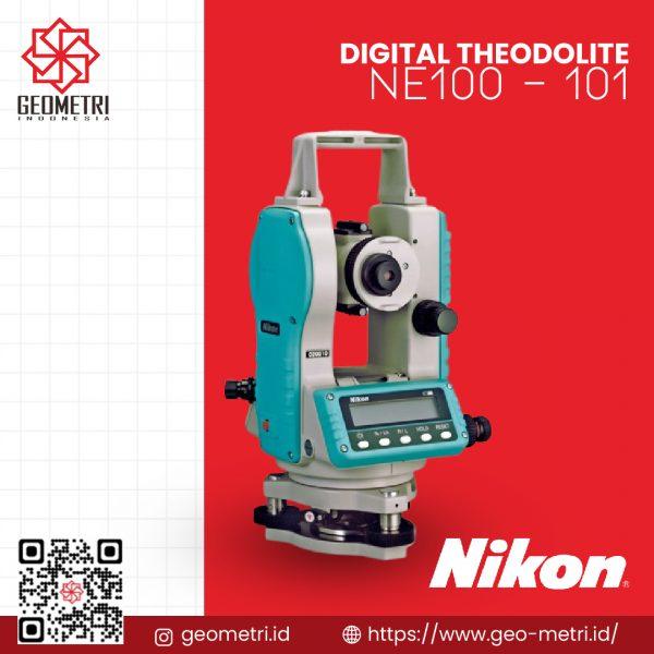 Digital Theodolite Nikon NE-100 and NE-101