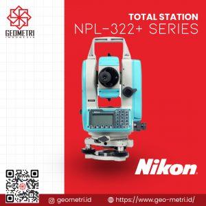 Total Station Nikon NPL-322+ Series