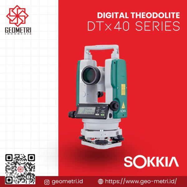Digital Theodolite Sokkia DTx40 Series