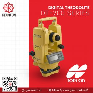 Digital Theodolite Topcon DT-200 Series