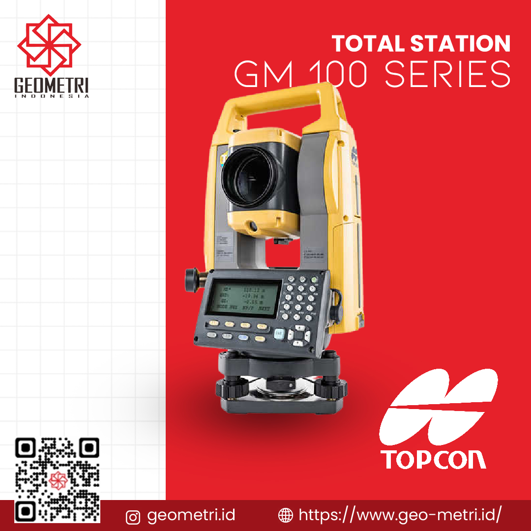 Total Station Topcon GM 100 Series