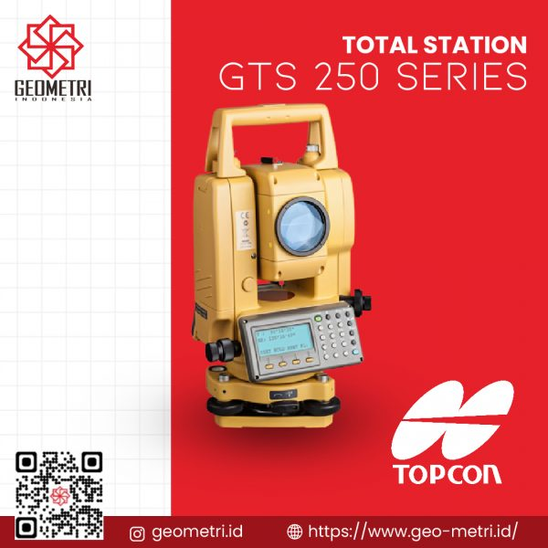Total Station Topcon GTS 250 Series