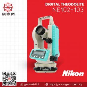 Digital Theodolite Nikon NE-102 – NE-103