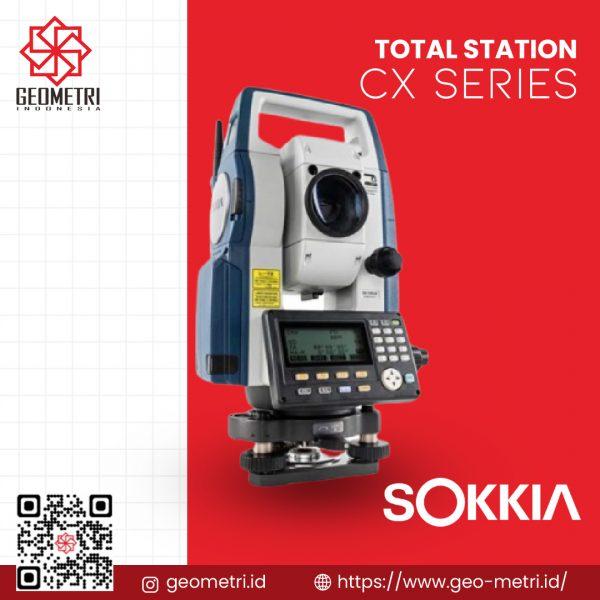 Total Station Sokkia CX Series