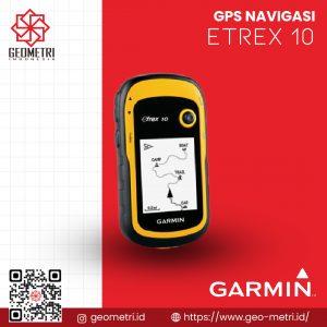 GPS Navigasi Garmin eTrex 10