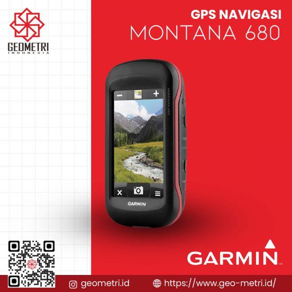 GPS Navigasi Garmin Montana 680