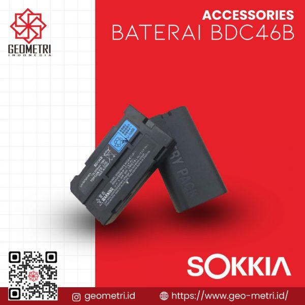 Baterai Sokkia BDC46B