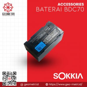 Baterai Sokkia BDC70