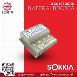 Baterai Sokkia BDC35A